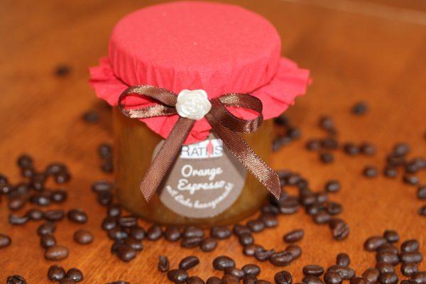 Orange Espresso Marmelade Café Raths