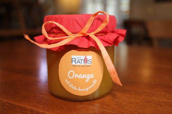 Orange Marmelade Fruchtaufstrich