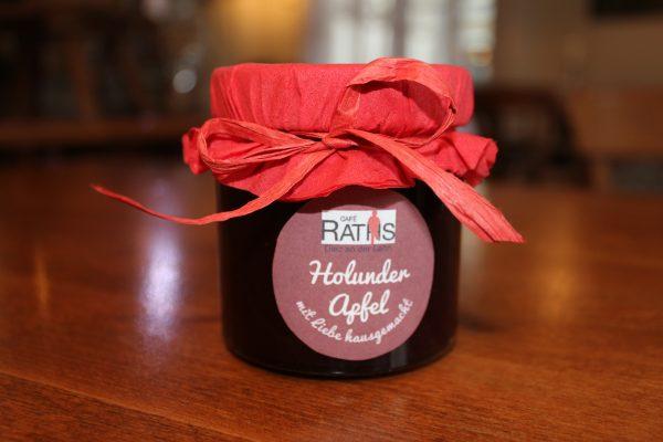 Holunder Apfel Marmelade