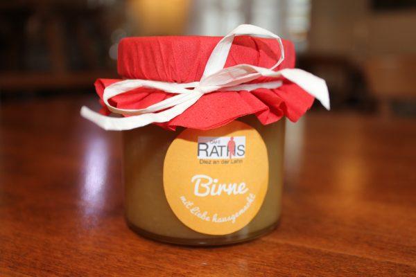 Birne Marmelade