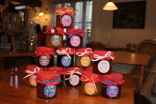 Marmeladen und Gelees Café Raths