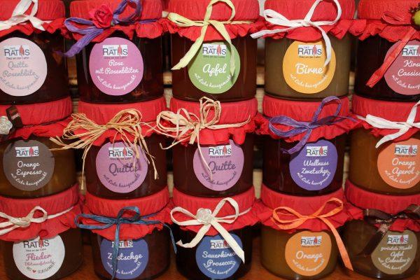 Marmelade Gelee Fruchtaufstrich Auswahl