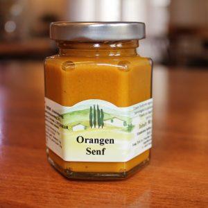 Orangen Senf