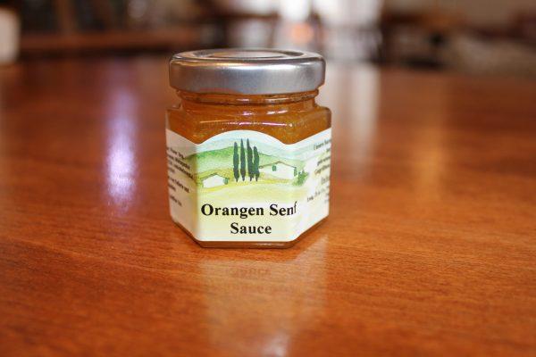 Orangen Senf Sauce 40ml
