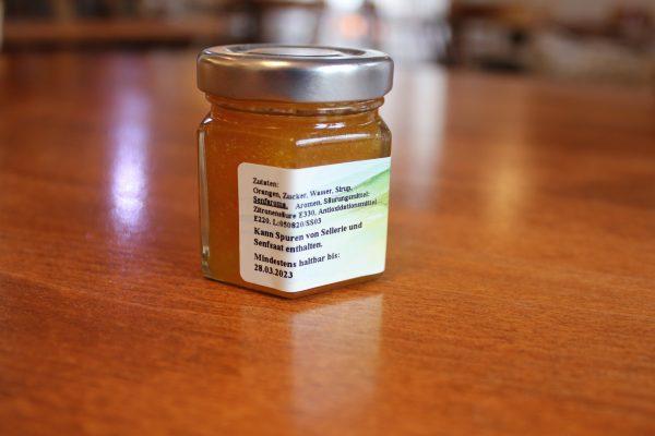 Orangen Senf Sauce l