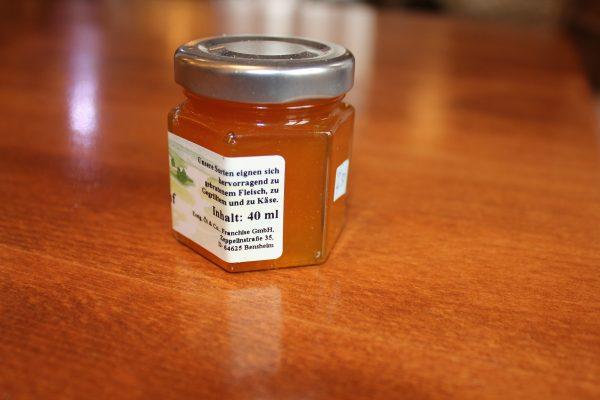 Orangen Senf Sauce r