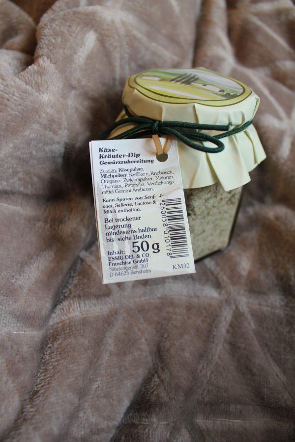 Käse Kräuter Dip, Gewürzzubereitung r