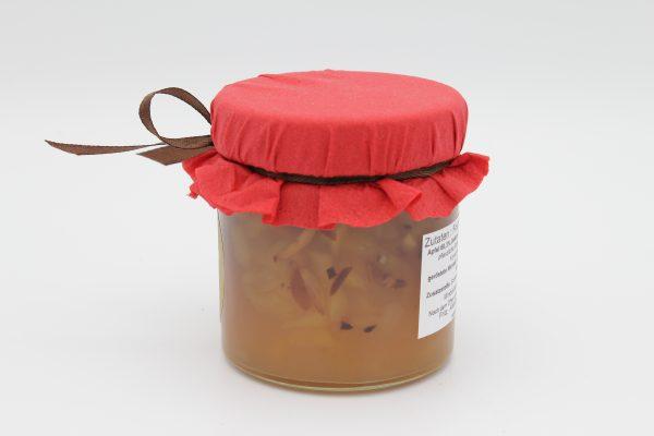 Apfel Calvados geröstete Mandel