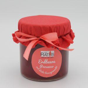 Erdbeere Prosecco